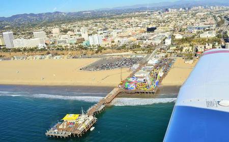 Santa Monica Pier 20 Minutes Airplane Tour