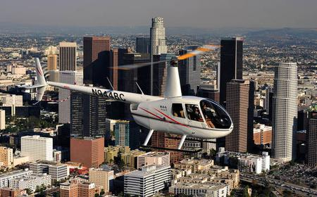 Hooray for Hollywood 30-Minute Helicopter Flight