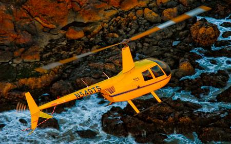 California Coast and Canyons: 30-Minute Helicopter Tour
