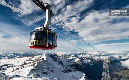 Mount Titlis Day Tour from Zurich or Lucerne