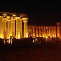 From Luxor: Karnak Temple Sound and Light Show
