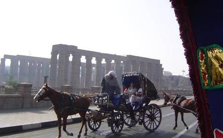 Karnak & Luxor Temple Half-Day Tour by Horse-Drawn Carriage