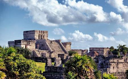 Cancun: Tulum & Xel Ha w/ Dolphin Swim Tour 3x1 Combo