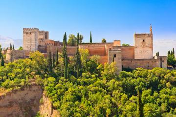 Granada-Kombi: Albaicin und Sacromonte-Spaziergang und Hop-on-Hop-off-Zug