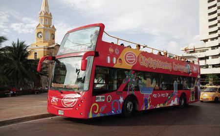 Cartagena Sightseeing Hop-on Hop-off Bus Tour