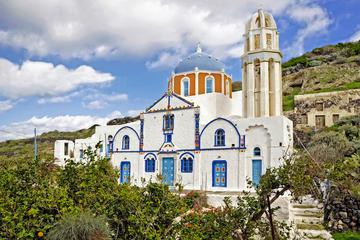Thirassia Island Small Group Tour with Lunch from Santorini