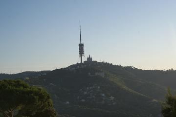 Tibidabo Panoramic Guided Walking Tour in Barcelona