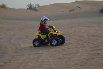 Sultans of Sands Desert Quad Bike Riding From Dubai