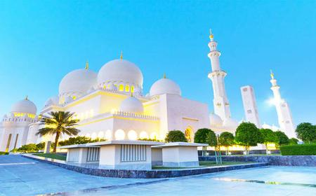 Half-Day Sheikh Zayed Mosque Tour From Dubai