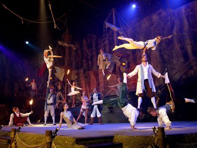 Pirates Adventure Show Admission Ticket with Return Transport from Mallorca