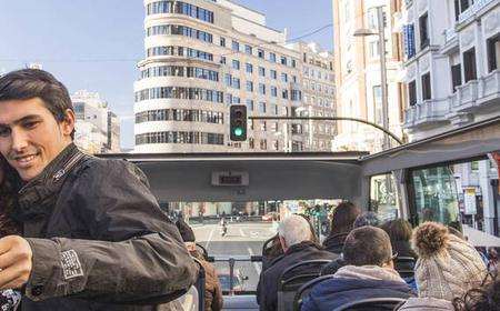 Madrid: Panoramic Open Top Bus Tour