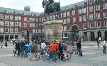 Madrid 3-Hour City Bike Tour