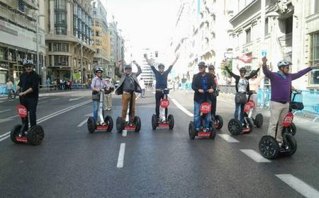 Madrid Downtown Segway Tour