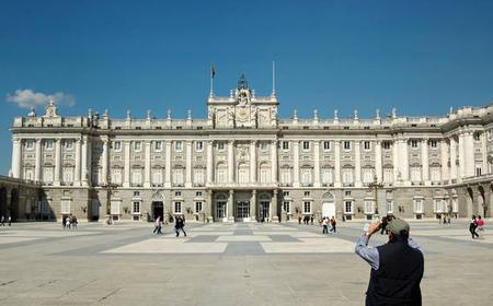 Madrid Highlights Tour and Entrance to the Royal Palace