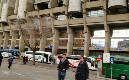 Madrid Segway Tour with Santiago Bernabeu Stadium Entry