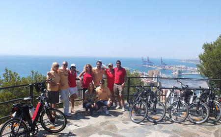 Gibralfaro to Balneario City Tour by E-Bike
