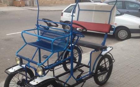 Mallorca: Bicycle Carriage hire at the Playa de Palma