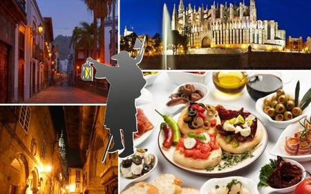Old Town Tour of Palma and Tapas Bars by Night
