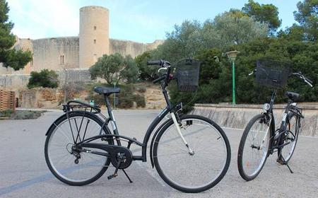 Palma: Guided bicycle tour Old Town & Bellver castle