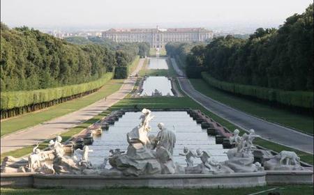 Naples: Caserta Royal Palace & La Reggia Shopping Spree