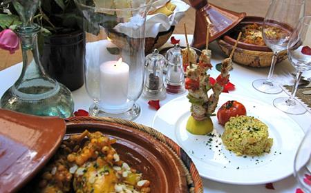 Moroccan Cuisine: 3-Hour Open-Air Cooking Course