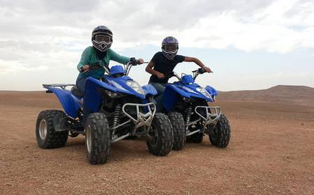 From Marrakech: quad trips, desert Agafay