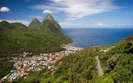 St. Lucia: Private Half Day Tour
