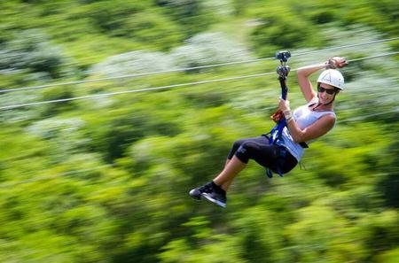 Scape Park Zipline and Hoyo Azul Tour
