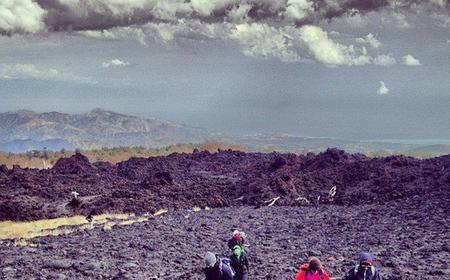 Mount Etna Volcano: Half-Day Trek & Local Food Tasting