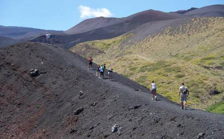 Mount Etna Volcano and Local Wine Tasting Full Day Excursion