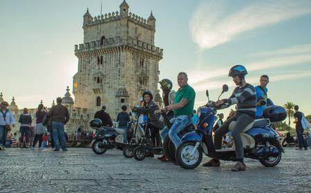 Downtown Lisbon to Belém Electric Moped 360º Tour