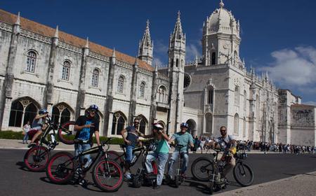 Downtown Lisbon to Belém Electric Bike 360º Tour