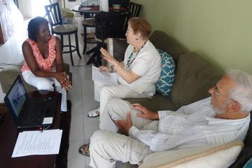 Jamaican Patois Language Class and Role Play Presentation From Kingston