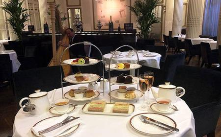 Champagne Afternoon Tea at The Waldorf Hilton Hotel
