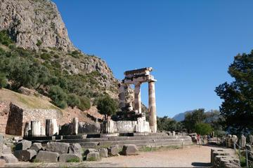 Self-Guided Delphi Day Tour with Private Chauffeur Including Lunch from Athens