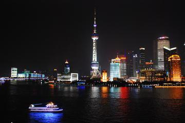 Evening City Lights and Huangpu River Cruise