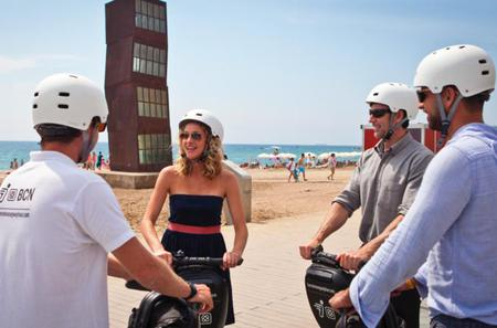 Barcelona 90-minutes Guided Segway Tour