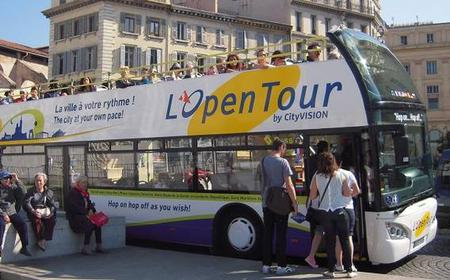 Marseille Hop-on Hop-off Bus Tour: 1 or 2 Day Ticket