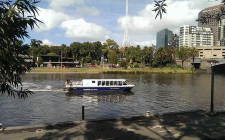 Melbourne Highlights with Yarra River Cruise and Lunch