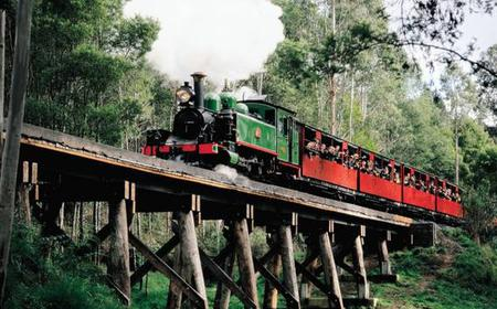 Puffing Billy & Wineries: Full-Day Tour from Melbourne