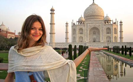 1 Day Delhi and 1 Day Agra with Taj Mahal Sunrise Tour