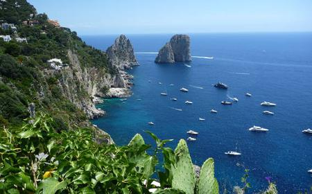 Capri Day Cruise by Boat from the Amalfi Coast