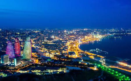 Baku: 3-Hour Private Night Tour (Yanardag & More)
