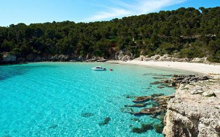 Southern Menorca Full-Day Private Boat Trip