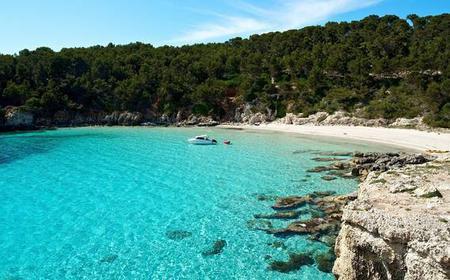 Southern Menorca Full-Day Private Boat Trip