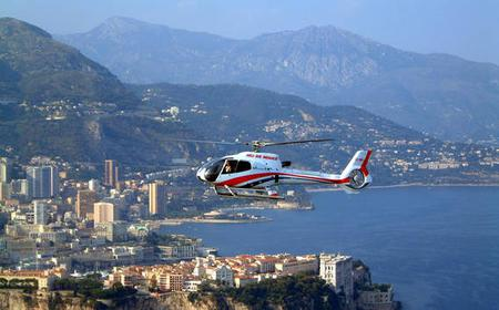 Monaco: VIP Helicopter Sightseeing Tour with Transfers