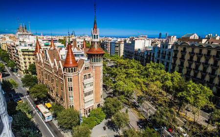 Barcelona: Les Punxes Entrance Ticket w/ Audio Guide