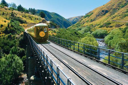 Dunedin Shore Excursion: Taieri Gorge Railway and the Otago Peninsula Day Trip from Dunedin
