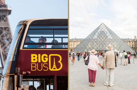 Skip the Line: Louvre Museum and Big Bus Hop-On Hop-Off