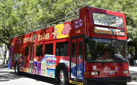 San Juan Hop-On-Hop-Off City Sightseeing Bus Tour